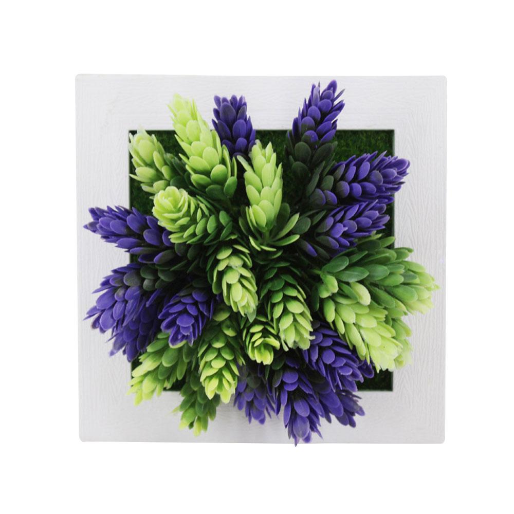Пластиковая рамка для фотографий растений суккулентные растения орнамент креативная эмуляция настенный искусственный свадебный цветок рамка - Цвет: 30A
