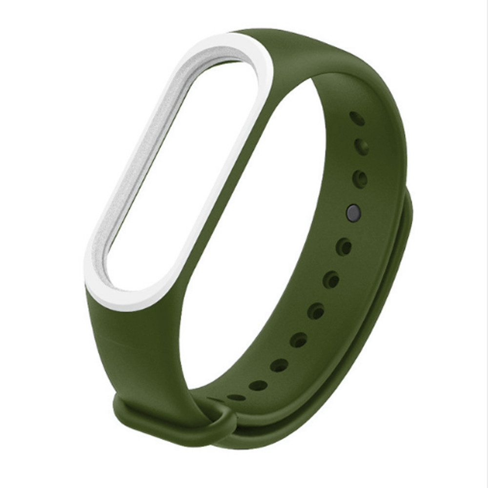 Smart  Strap 2018 New Soft Silicone Sport Watch Band Replacement Bracelet  For Xiaomi Mi Band 3 Accessories Strap NM10