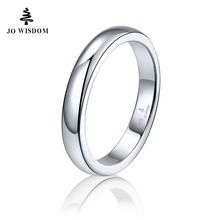 100% 925 Sterling Silver Women Wedding Ring Best Gift for Friends