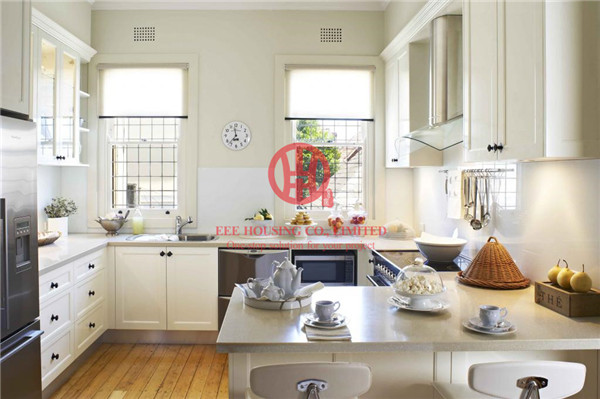 Fashion Shaker-style Solid Wood Kitchen Cabinet With Excellent Design And Quality Shipping By Sea
