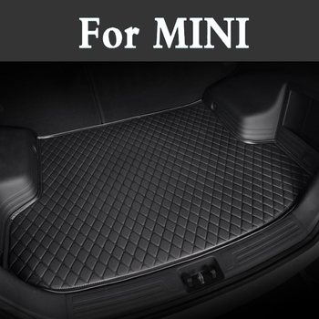 Auto Trunk Cover Custom Fit Luxury Pu Leather Car Trunk Mat Cargo Mat For Mini Jcw Jcw-Clubman Jcw-Countryman Jcw-Coupe