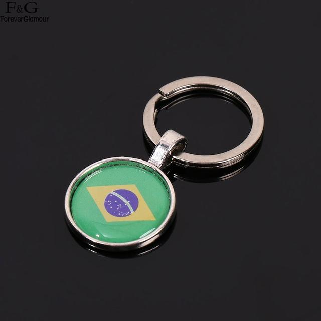 US $1 52 |Football Cup World Team Different Countries Flag Pattern Key  Ring-in Key Chains from Jewelry & Accessories on Aliexpress com | Alibaba  Group
