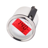 Boat Car 85mm Digital GPS Speedometer Gauge 0~999 knots km/h mph 9~32V With Backlight fit Yacht Motorcycle Speedometer