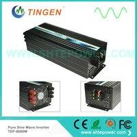 5KW DC 12V input to AC output waveform pure sine wave TEP 5000W power inverter off grid tie system AC output 110V/220V/230V