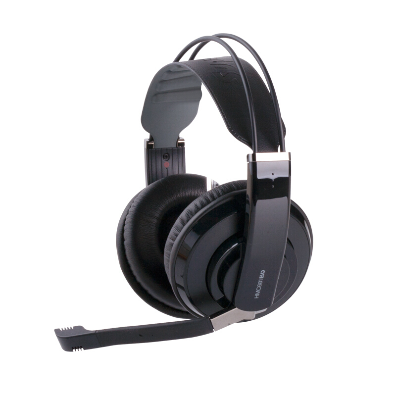 New Superlux HMC681EVO Gaming Headphone Computer Headset With Mic Volume Control Gamer DJ Studio Deep Bass Noise Isolating все цены
