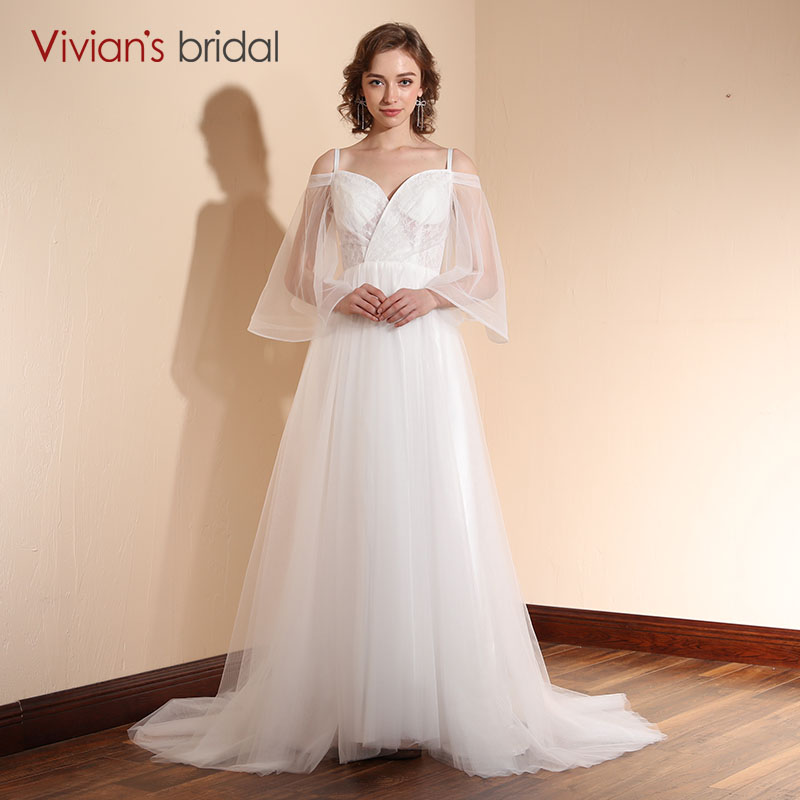 Sweetheart Lace Wedding Dress: Aliexpress.com : Buy Vivian's Bridal Simple Lace Wedding