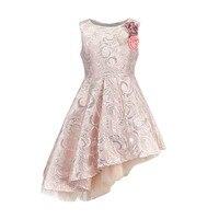 BRWCF Neue 2018 Herbst & Winter Kinder Kleidung Mode Kind Kleid für Baby Mädchen Prinzessin Kleid für Partei und Hochzeit 3-12 Jahre