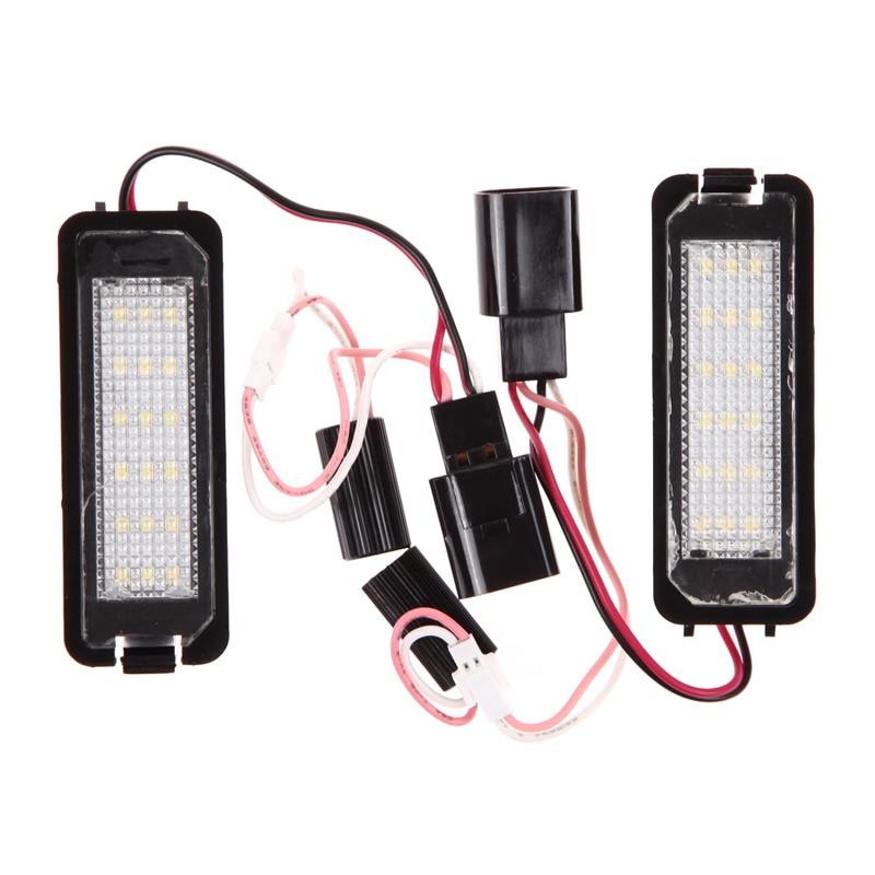 LED License Plate Lamp Light For VW GOLF4/5/6 CC Phaeton Porsche 987 997 ME3L 3 5 usb3 0 4tb lacie porsche p9233 9000385