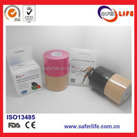 saferlife Tape Pro Synthetic 5cm x 5m 2014 promotional synthetic elastic muscle therapeutic kinesiology tape