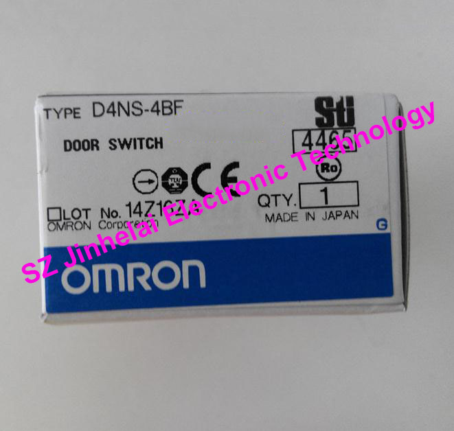 100%New and original OMRON DOOR SWITCH  D4NS-2BF, D4NS-4BF 100% new and original fotek photoelectric switch a3g 4mx mr 1 free power photo sensor