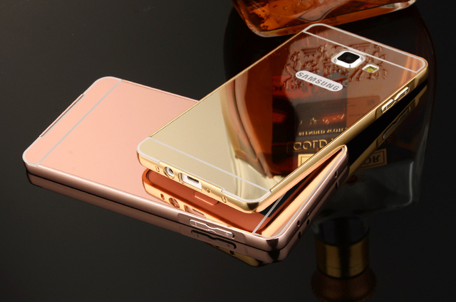 release date 2a93b 8d788 US $3.15 |Luxury Aluminum Metal Frame Mirror Acrylic Back Cover Case for  Samsung Galaxy A3 2016 A310 SM A310F A3100 Cases Deluxe funda on ...