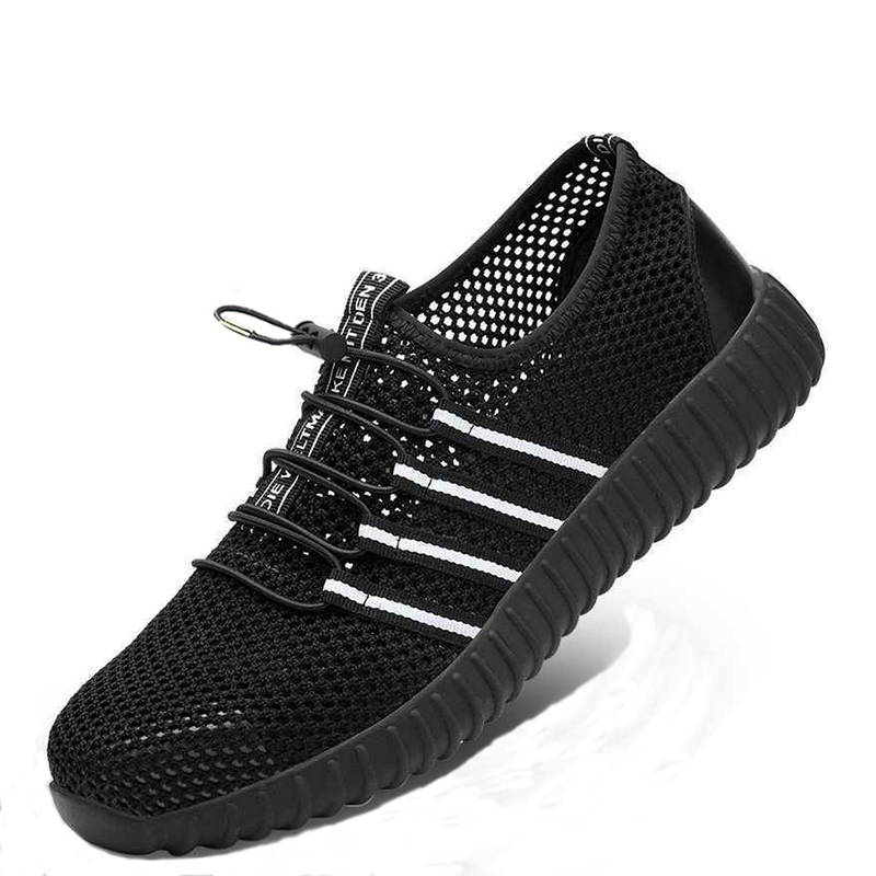 shoes Fashion safety shoes Mens breathable mesh anti-smashing piercing lightweight steel toe cap wear site work shoes 35-46shoes Fashion safety shoes Mens breathable mesh anti-smashing piercing lightweight steel toe cap wear site work shoes 35-46
