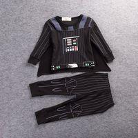 Darth Maul Boys Star Wars Halloween Villain Fancy Dress Kids Child Costume New