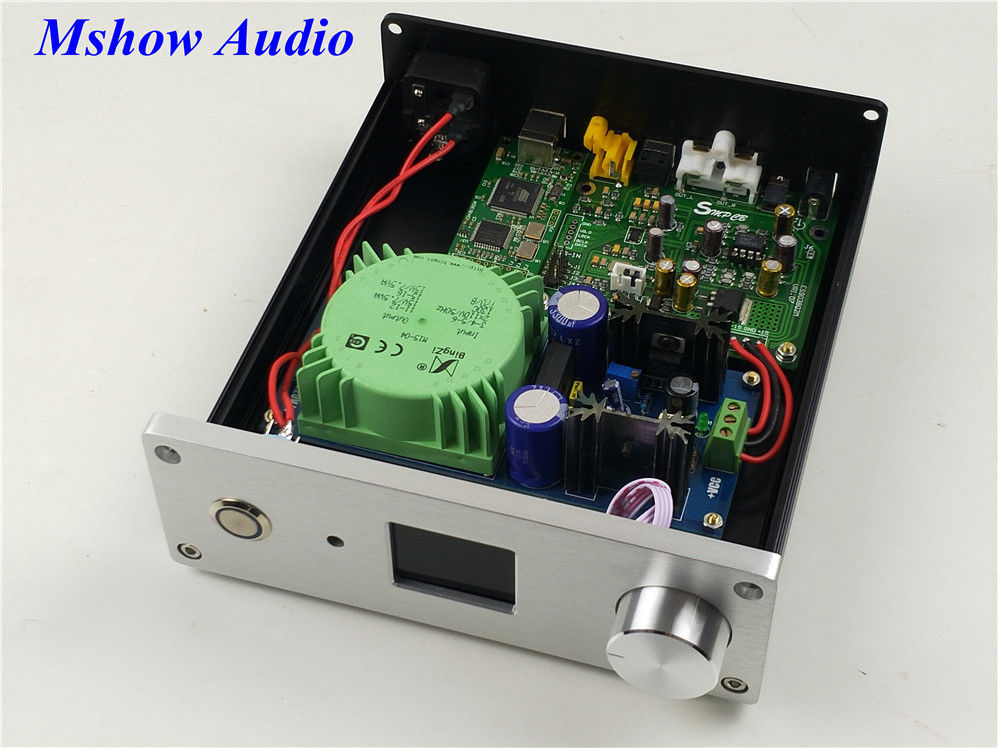 цена на New es9038Q2M ES9038 Q2M HIFI DAC DSD Decoder with Amanero USB audio finished