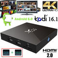 X96 10 unids 1g 8g S905X 10 unids Amlogic Quad Core Android 6.0 TV Box kodi h.265 HDMI 2.0A 4 K Malvavisco Reproductor de Medios tv cajas