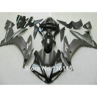 Injection Molding Fairings Set For YAMAHA YZF R1 2004 2005 2006 All Matte Black ABS Plastic