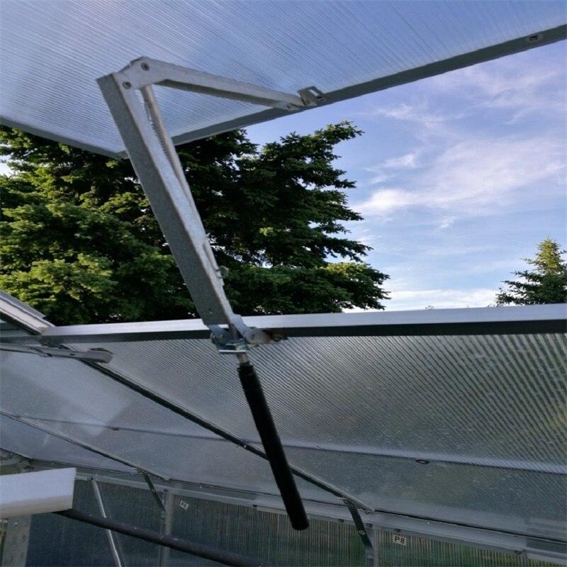 Apertura automática de ventanas 45 cm apertura agrícola Invernadero Solar calor sensible Invernadero apertura de ventana