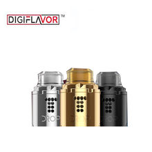Original Digiflavor Drop Solo RDA vape with Two different caps included Standard 510 and Raised BF squonk 510 pin rda(China)