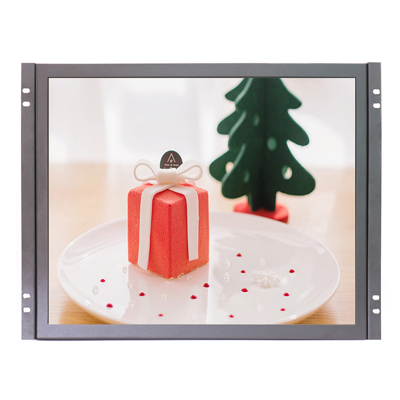 17 inch touch pos monitor 1280*1024 high resolution touch lcd monitor with AV/BNC/VGA/HDMI/USB input