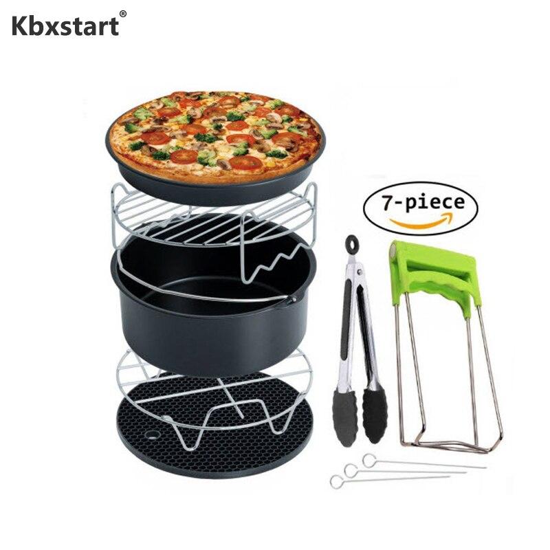 Kbxstart 3,5-5.8QT Air приборы для фритюрницы набор 7 дюймов 7 шт. Friteuse freidora sin aceite для кухни кухонная утварь