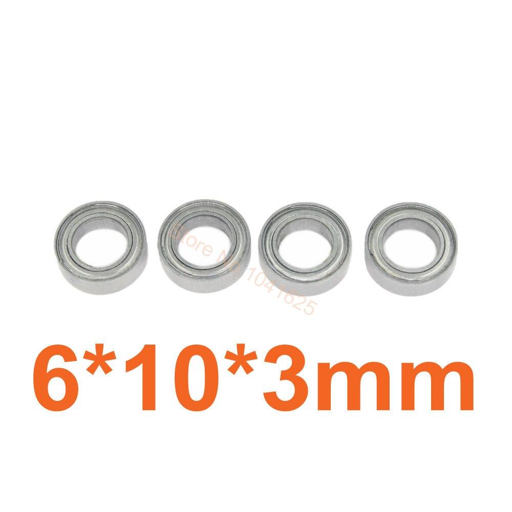 1/18 обновленные части 10x6x3 подшипники шариковые детали для HSP RC автомобилей 580043