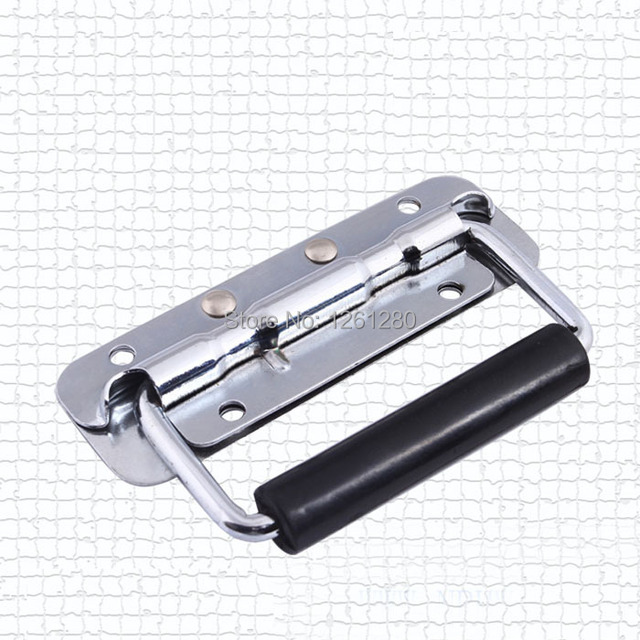free shipping metal handle 120 air box bag handle bag parts grip handmade house hardware ring Spring handle