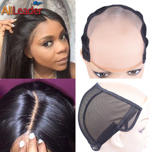Alileader Popular Mono Wig Caps For Making Wigs Accessories Tools Women Invisible Hair Nets Good Quality NetsS/M/L Size