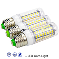 E27 SMD5730 LED Corn Bulb Lamp 220V 240V LED Warm White Light 24 36 48 56 69 81 89LEDs Home Decorated Chandelier Candle Lighting