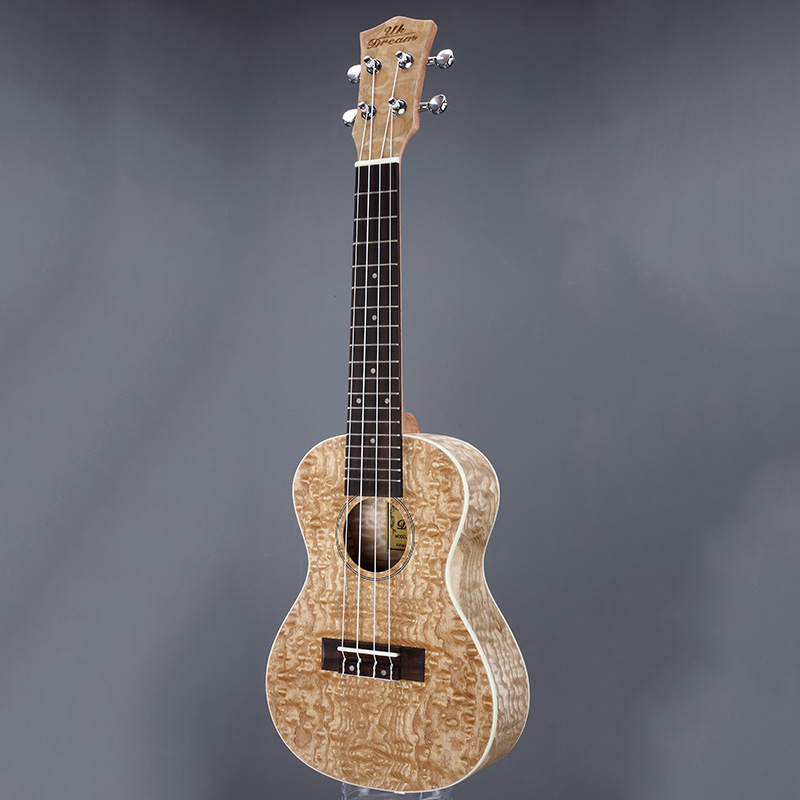 Mini Acoustic Guitar Fraxinus Ukulele 23 Inch Musical Instruments 4 Strings Guitar 17 Frets Rosewood Guitars guitarra UC 951 in Ukulele from Sports Entertainment