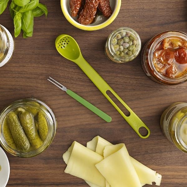 High Quality Jar spoon And Fork Plastic Colander utensil set