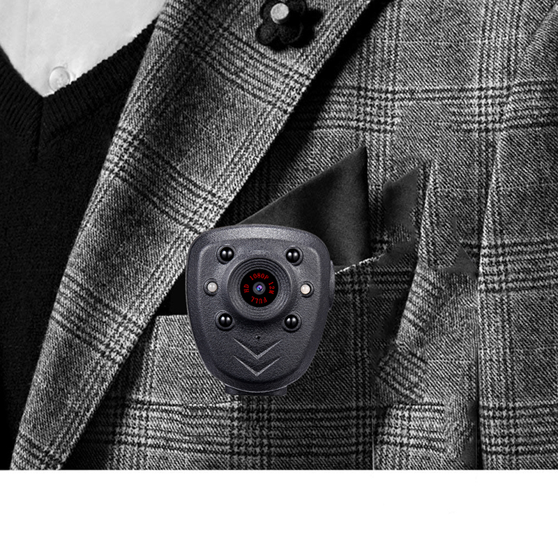 Full HD 1080P Police Body Lapel Worn Video Camera DVR IR Night Vision LED Light Cam Digital Mini DV Recorder Voice 32G TF Card_9