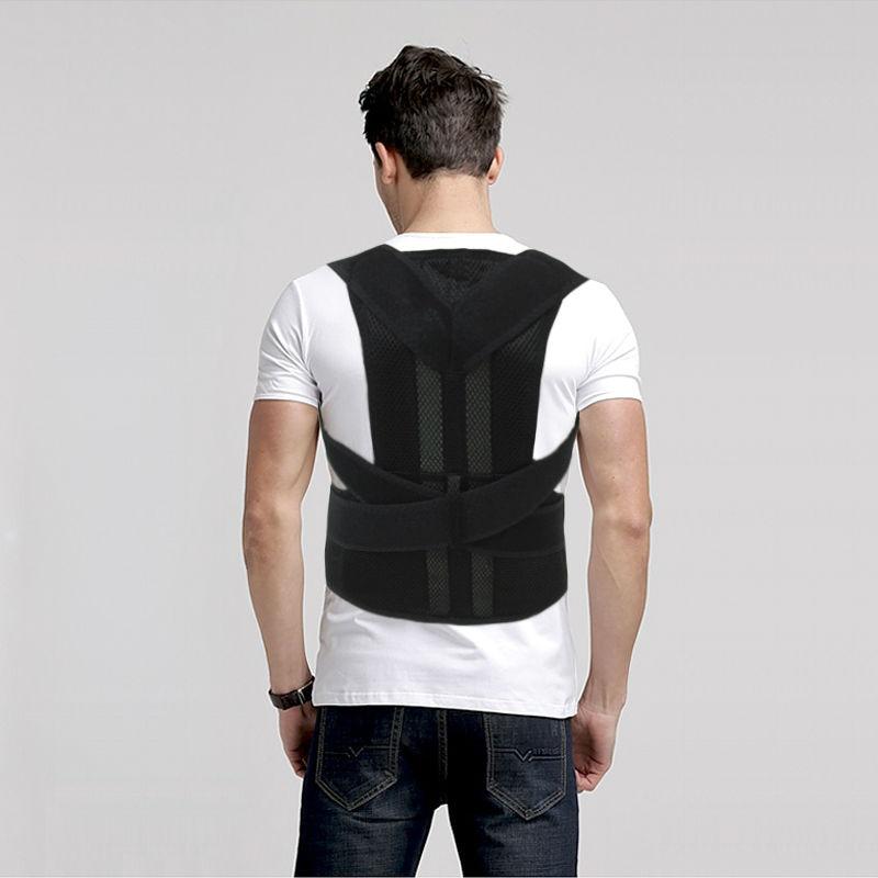 Magnetic Corset Back Posture Corrector Brace Back Shoulder Support Posture Correction Belt for Men Women Students AFT-B003