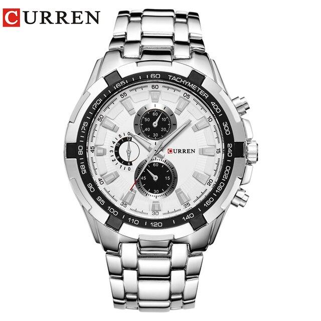 Relogio Masculino CURREN Часы Мужские кварцевые Часы армии Top Brand Водонепроницаемый Мужские Часы Мужчины Спортивные