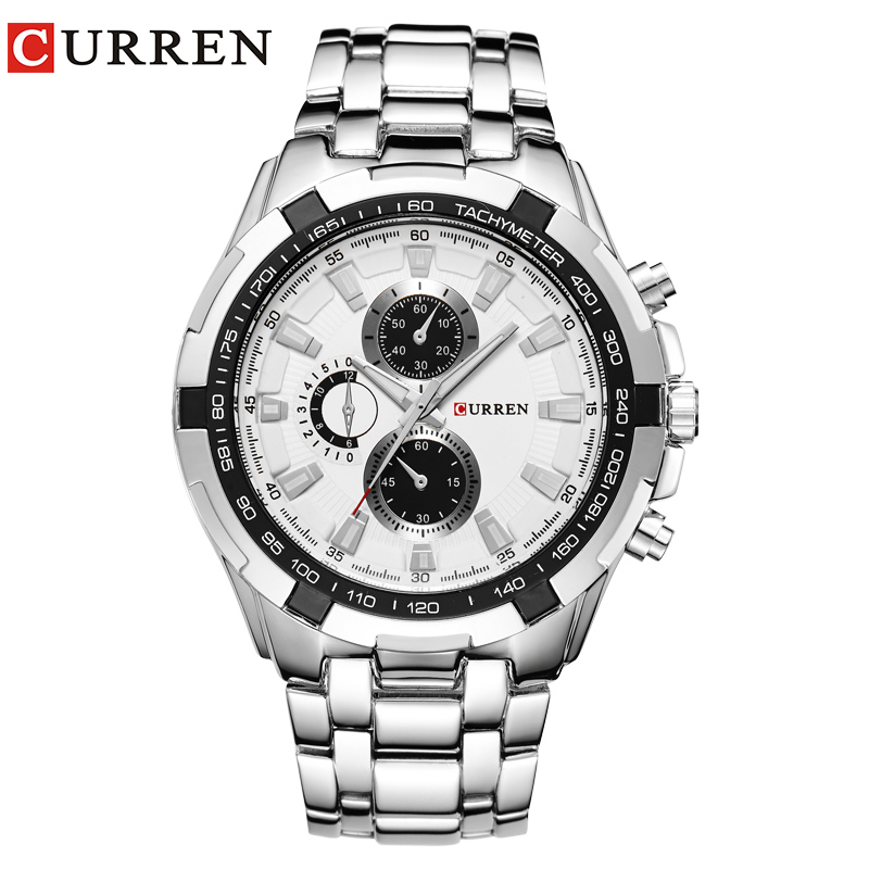 Relogio Masculino CURREN Watches Men quartz army Watch Top Brand Waterproof male Watches Men Sports relogio masculino original curren wristwatches mens watches top brand luxury silicone sports watches military army waterproof
