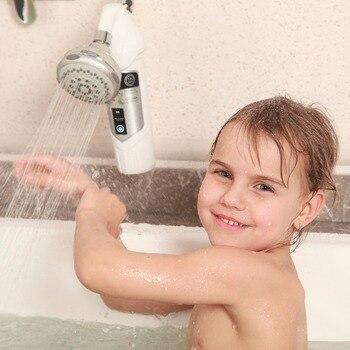 Filtro De Cloro De Ducha   Filtro De Agua De Ducha Para Baño De Bebé Y Cuidado De La Piel Con 99% Eliminar Medios De Filtro De Cloro