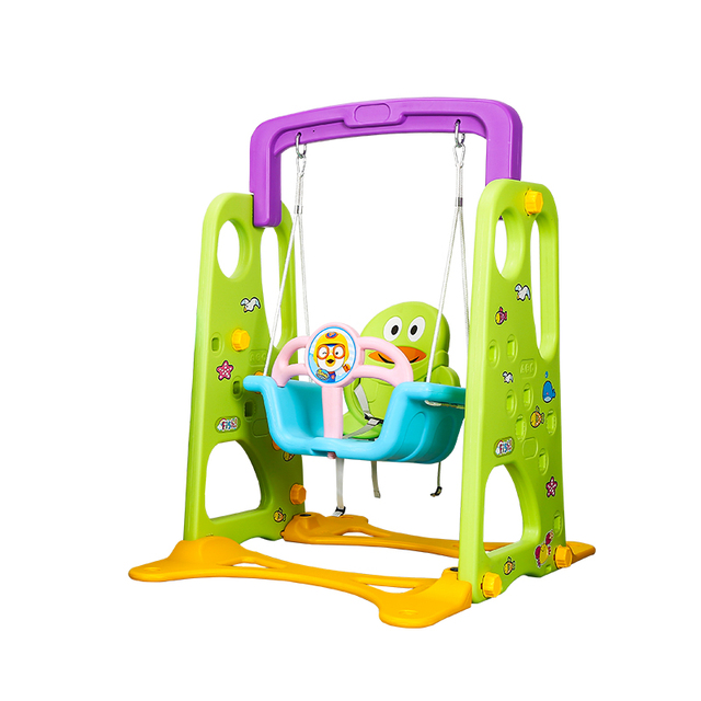 Colorful Baby Swing Indoor Kids Stand Outdoor Folding Hanging Chair Rocking For 1