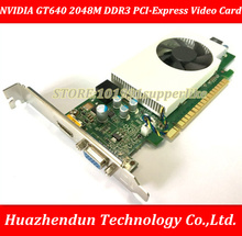 DEBROGLIE 1PCS Brand New Full height NVIDIA  GeForce 640 2048M DDR3 PCI-Express GT640 Graphics Video Card