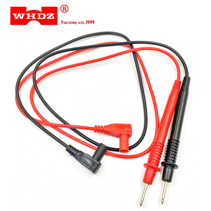 1 PAIR Universal Probe Test Leads Pin For Digital Multimeter L0Z0 best T8Y8