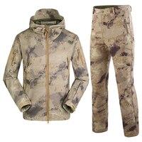Профессиональная уличная дышащая охотничья одежда Водонепроницаемые руины камуфляжная охотничья куртка Костюмы для охотника