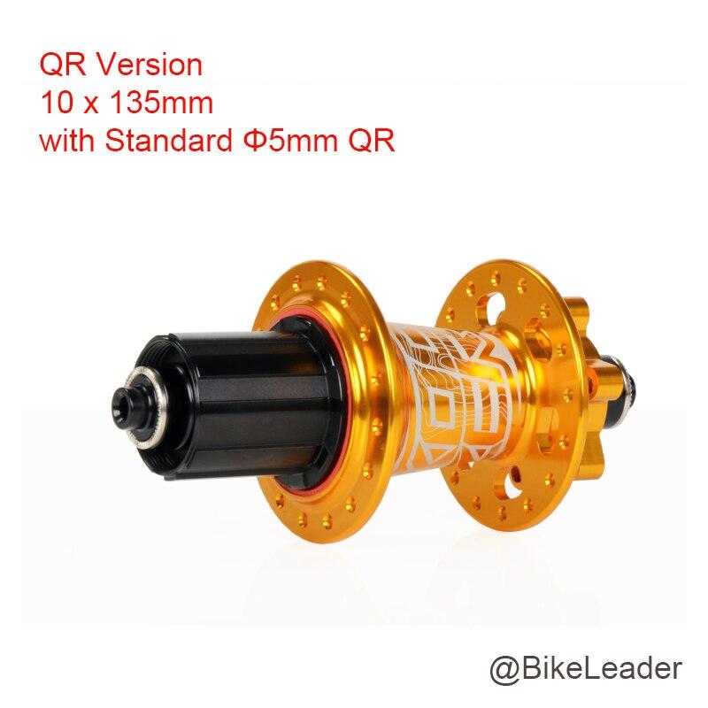 Moyeu arrière Koozer vtt VTT 12 142mm 135mm 15mm à travers XD 11 vitesses 28 32 36 trous 4 moyeux de frein à disque à roulement scellé - 6