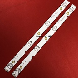 8 sztuk dla INSIGNIA NS-19D220NA16 podświetlenia LED 4LED obiektyw 2447620560T-03 2447620560T-04 ShineOn 2d01711 Rev F