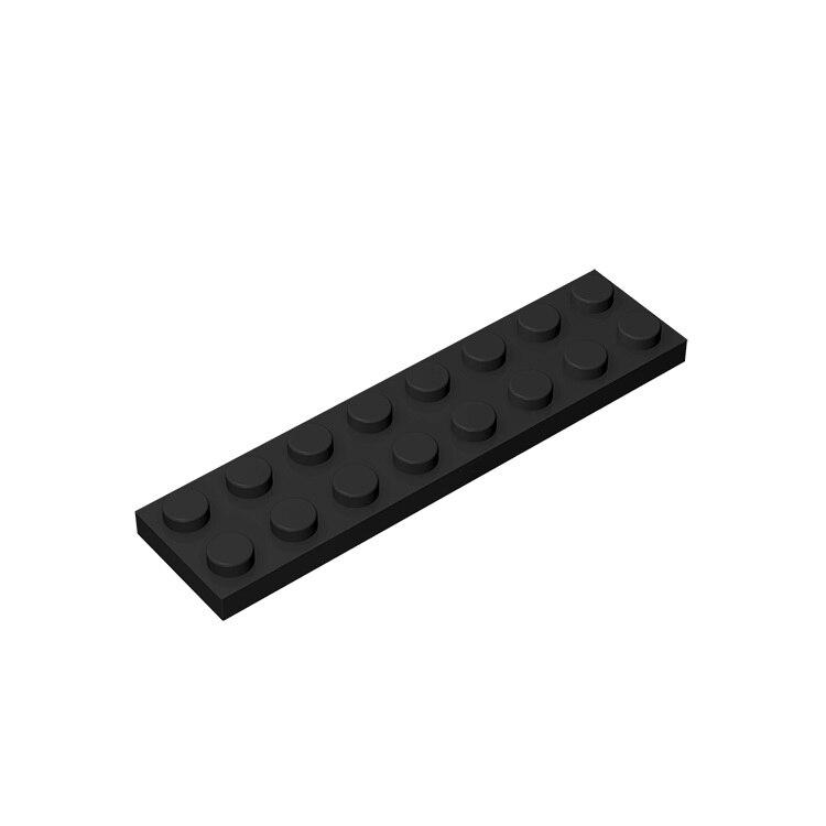 BuildMOC Compatible Assembles Particles 3034  2x8 For Building Blocks Parts DIY LOGO Educational Bricks Toys For Children DIY