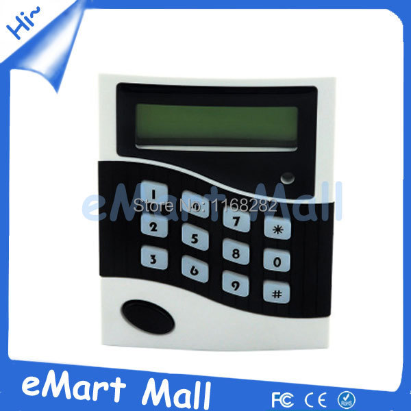 RFID Proximity Entry Lock Door Access Control System with 10 Keyfobs security rfid proximity entry door lock access control system 500 user 10 rfid keyfobs with english user manual