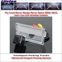Liislee Câmera Traseira Para Land Rover Range Rover Sport Faixas de Estacionamento Reverso de Backup Inteligente Orientação Dinâmica Tragectory|range rover backup camera|range rover camera|camera for parking -