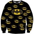 Women Hoody Bat Man Print Loose Hoodie sudaderashirt Tracksuits Brand Pullover Casual Hedging sudadera Saia Feminina