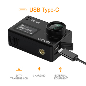 Image 4 - Oryginalna kamera akcji SJCAM SJ8 Pro 4K 60FPS pilot wifi kamera na kask Ambarella Chipset 4K @ 60FPS ultra hd sporty ekstremalne DV