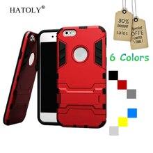 sFor Cover iPhone 6s Case Robot Armor Hard Silicone Rubber Phone Case For iPhone 6s Cover
