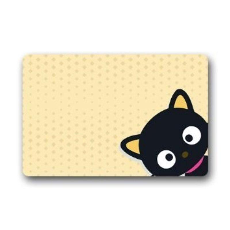 CHARMHOME Machine Washable Cat Door Mat Door Mats Cover Decorative Doormat  Indoor/Outdoor Doormat Non Woven Fabric Non Slip In Mat From Home U0026 Garden  On ...
