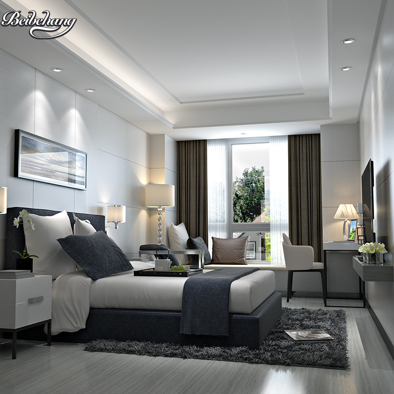 Beibehang Modern Minimalist Imitation Wood Wallpaper Wood Living Room Warm  Bedroom Sofa TV Background Wallpaper In Wallpapers From Home Improvement On  ...