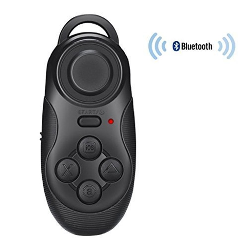Wireless Portable Bluetooth Remote Gamepad Game Controller Joystick For Android/iOS Sony PC Selfie Remote Shutter
